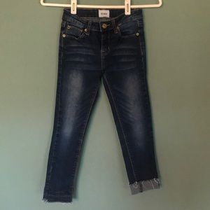 Hudson jeans, girls size 10 with adjustable waist